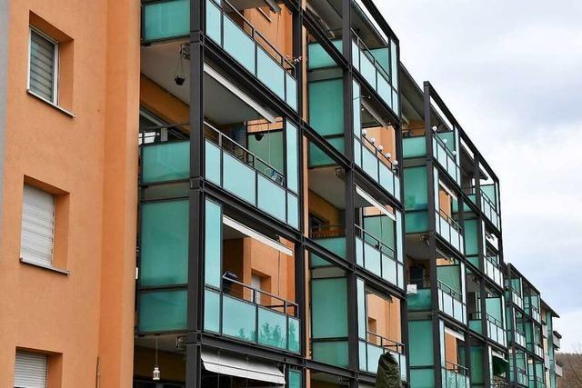 In der Lörracher Nordstadt bietet Nachkriegsarchitektur Lebensräume