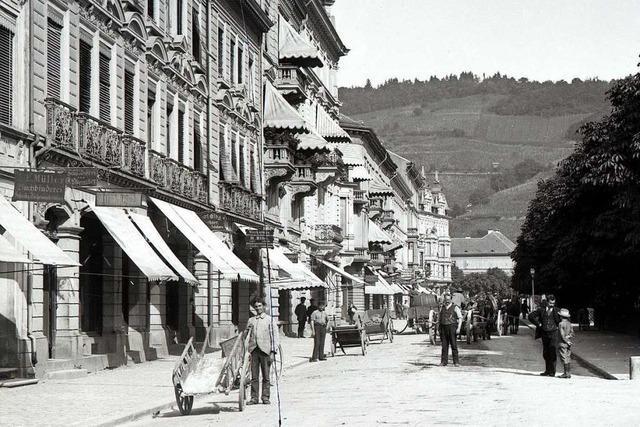 Wie der Friedrichring in Freiburg vom Weinbaugebiet zur Geschäftsmeile wurde
