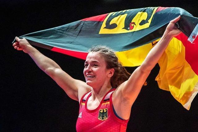 Der Traum der Ringerin Annika Wendle geht in Erfüllung