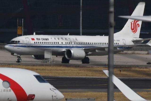 Chinesische Fluggesellschaften dürfen Boeing 737 MAX 8 vorerst nicht einsetzen