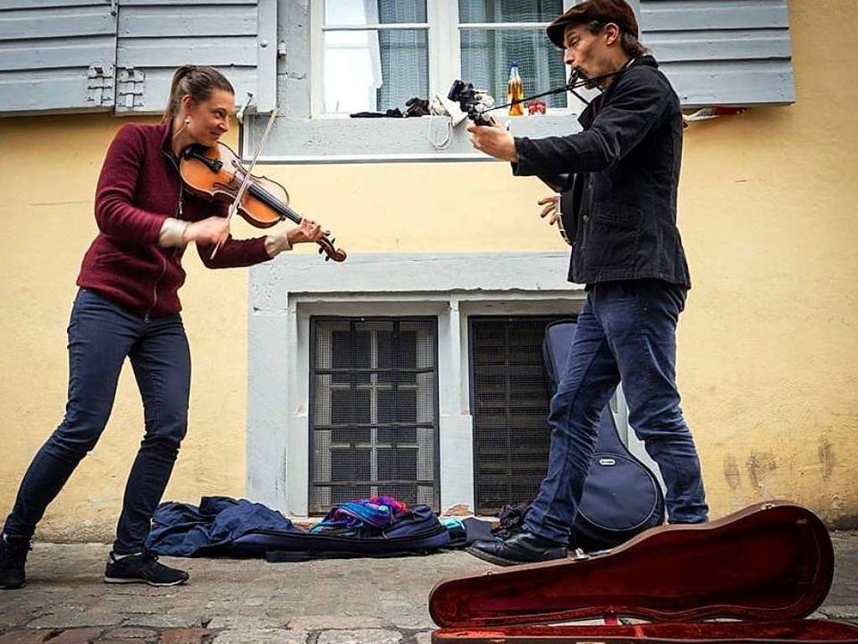 """""""Das Instrument klingt für mich ...iheit"""", sagt Musiker Crack Cole.    Foto: privat"""