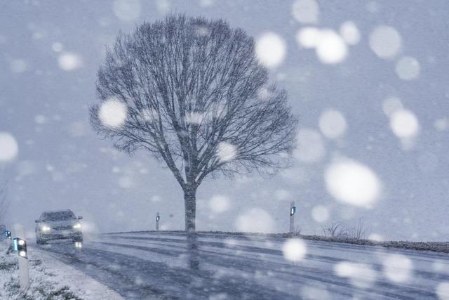 Regen, Wind, Schnee – Wochenstart im Südwesten ist wechselhaft