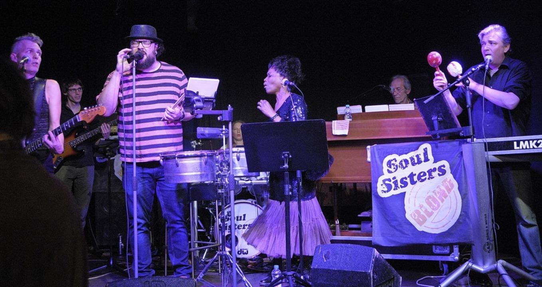 Die Band Soul Sisters Blond rockte am Samstag das Kesselhaus.   | Foto: Ounas-Kräusel