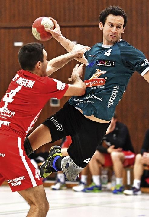 Erik Ziehler steuerte sechs Treffer zum  Heimsieg des TVH bei.   | Foto: Keller