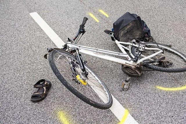 In Freiburg ist die Zahl der Fahrradunfälle erneut gestiegen