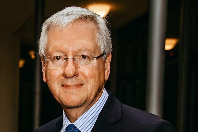 Freiburger Uni-Rektor Hans-Jochen Schiewer landet bei Ranking im letzten Drittel