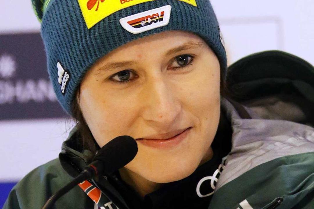 Ramona Straub vor zwei Wochen bei der ...lg der 25 Jahre alten Schwarzwälderin.  | Foto: Joachim Hahne