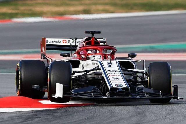 Mit 39 Jahren ist Kimi Räikkönen der ältester Formel-1-Fahrer 2019