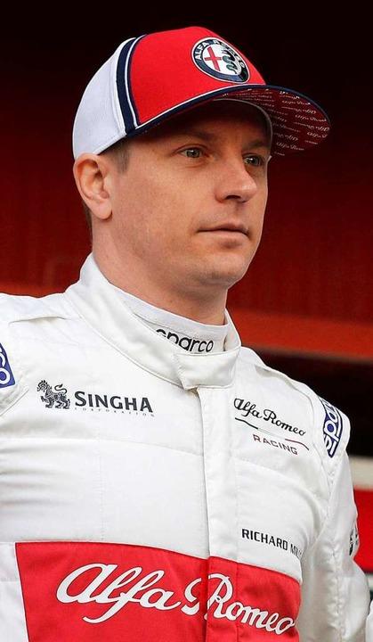 Mit 39 Jahren ist der Finne in diesem ...r älteste Pilot auf dem Formel-1-Feld.  | Foto: dpa