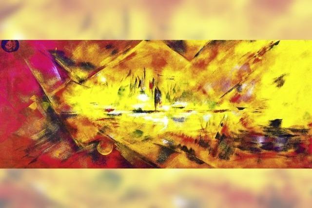 Finissage der umfangreichen Ausstellung von Malereien der Kirchzartener Künstlerin Elisabeth Weise