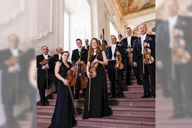 Das Kurpfälzische Kammerorchester Mannheim gastiert in der Stadthalle Waldshut