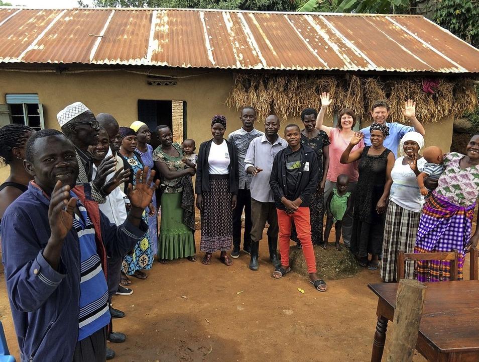 Regelmäßig besuchen Mitglieder des Ver...to entstand dort im vergangenen Jahr.   | Foto: Juma Masabe