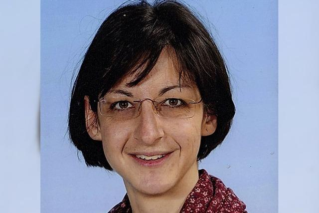 Eva Schmidt ist Schulleiterin