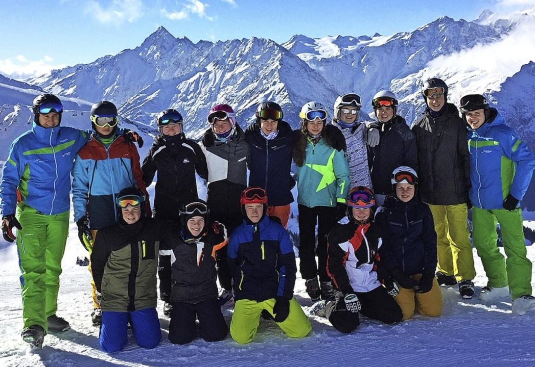 Skiclub Maulburg unterwegs: Die jungen... hatten zumeist Glück mit dem Wetter.   | Foto: Verein