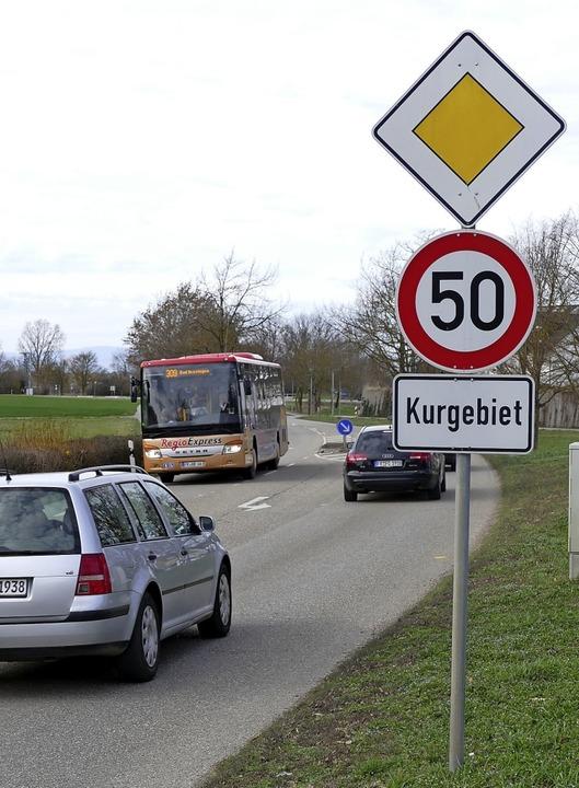 Wird  ab 2020 an der Thermenallee geblitzt?     Foto: F. Schoch/I. Schneider