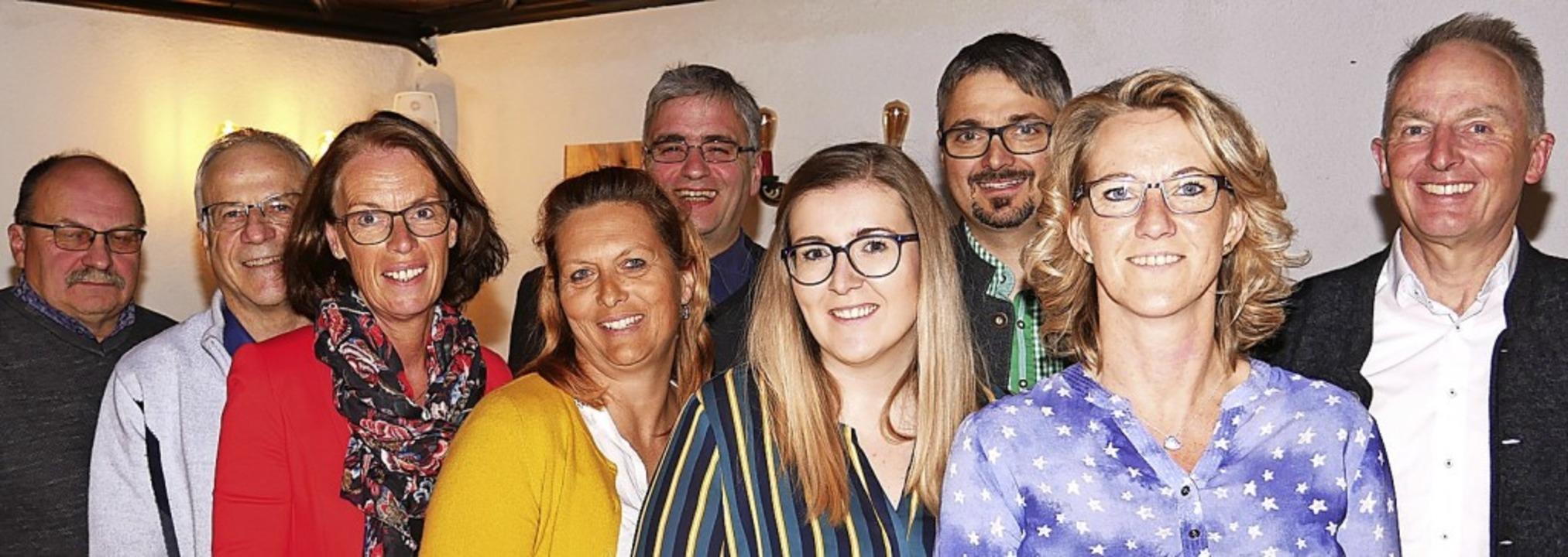 Die SPD-Kandidaten für den Gemeinderat...erz, Raomona Burgert und Sigurd Kohls.  | Foto: Eva Korinth