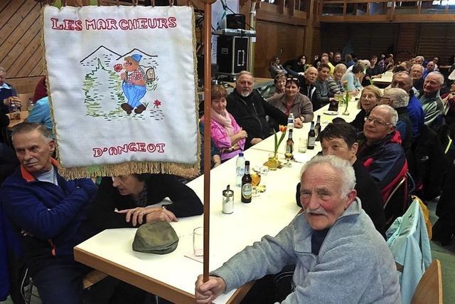 850 Wanderer trotzen dem wüsten Winterwetter
