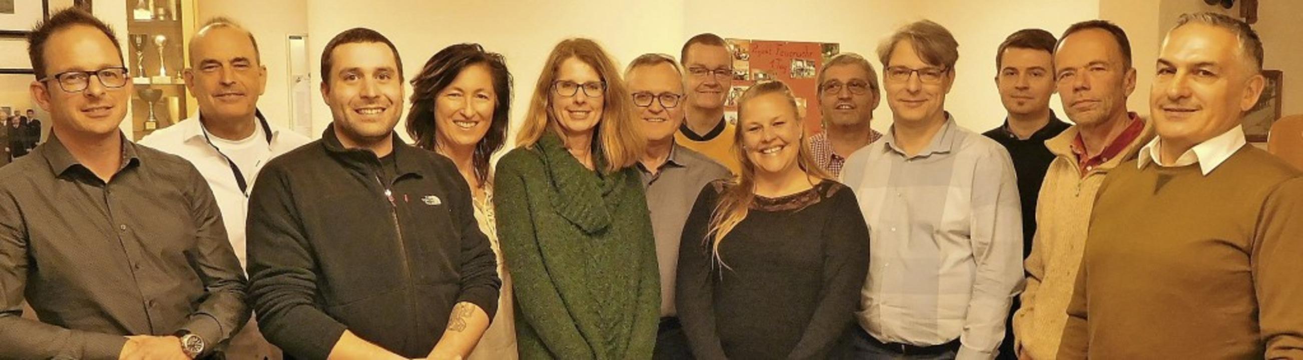 13 der 14 Kandidaten für den Wittlinge...an Alaca. Es fehlt Renate Zimmermann.     Foto: Privat