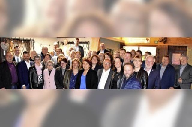 CDU-Listen für Kommunalwahl stehen