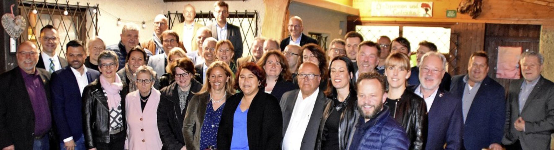 Kandidatinnen und Kandidaten der CDU-Liste für die Gemeinderatswahl am 26. Mai.   | Foto: Barbara Puppe