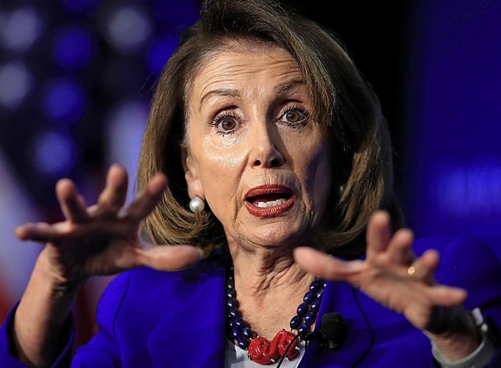 Die US-Demokratin Nancy Pelosi   | Foto: DPA