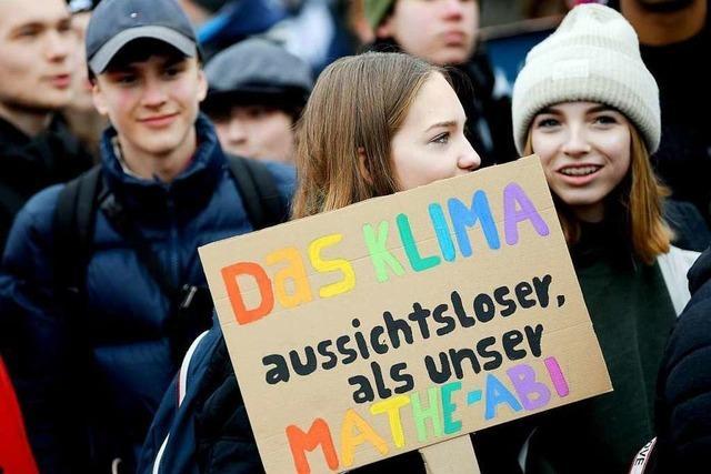 Auch die Schüler aus Grenzach-Wyhlen wollen fürs Klima streiken