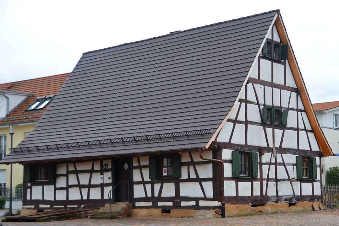 Das historische   Gaus-Haus in Denzlingens Ortsmitte    Foto: Sebastian Krüger