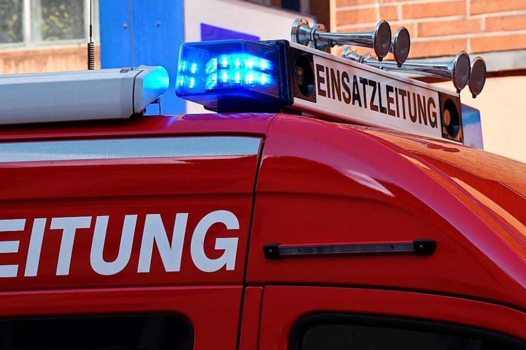 Die Lörracher Feuerwehr musste eine drei Kilometer lange Ölspur beseitigen.  | Foto: Jonas Hirt