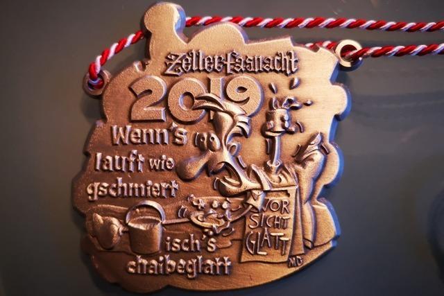 Die Ordensträger 2019 der Zeller Fasnacht