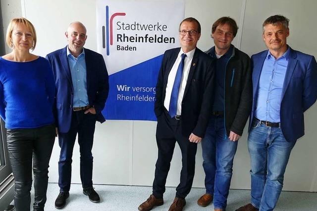 Die Stadtwerke Rheinfelden bekommen neue Aufgaben