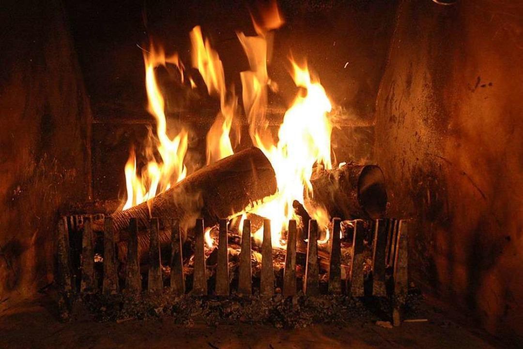 Kamine und Holzöfen schafften eine behagliche Wärme. Symbolbild.    Foto: Brigitte Sasse