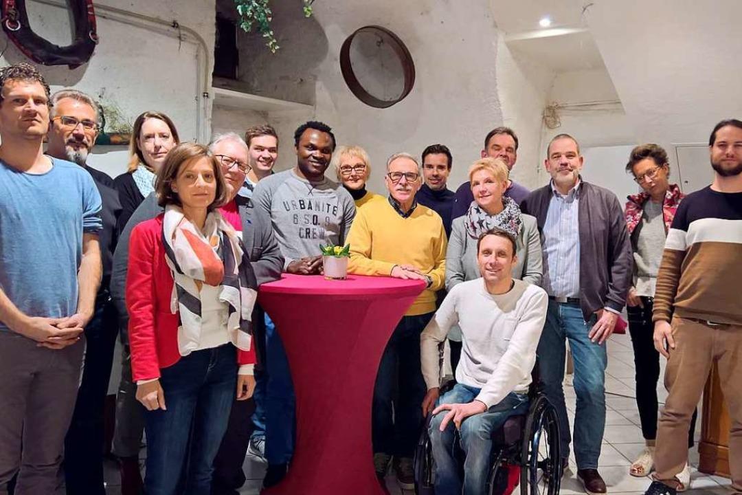 Kandidaten für den Gemeinderat auf der SPD-Liste in Kirchzarten  | Foto: SPD