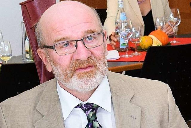 Badischer Weinbaupräsident Kilian Schneider hört 2020 auf