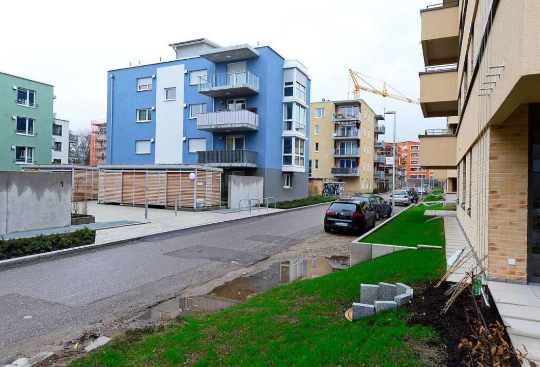 Im Baugebiet Gutleutmatten sollen Wohnungen für über 1000 Menschen entstehen.  | Foto: Ingo Schneider