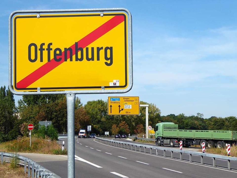 Bislang hat Offenburg nur einen Autoba...lagte Oberzentrum der Ortenau bringen.  | Foto: Helmut Seller