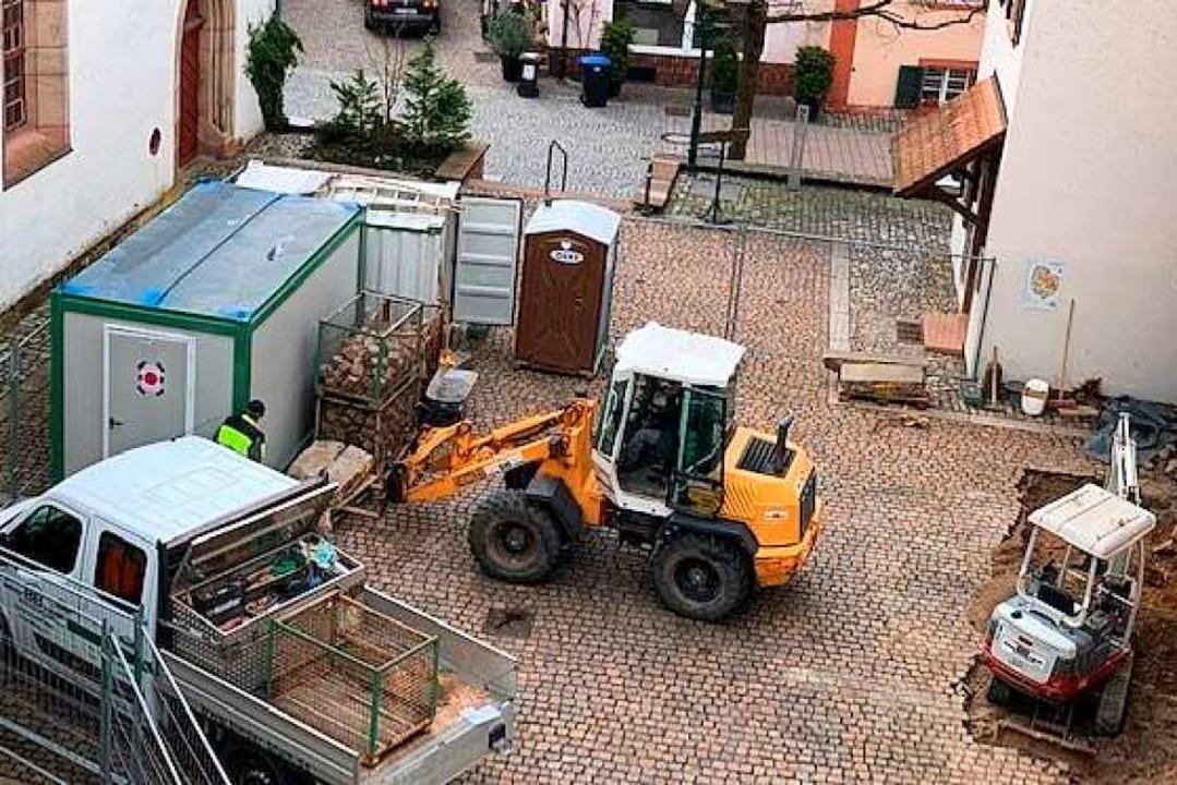 Der Poligny-Platz ist zur Baustelle geworden.  | Foto: Privat