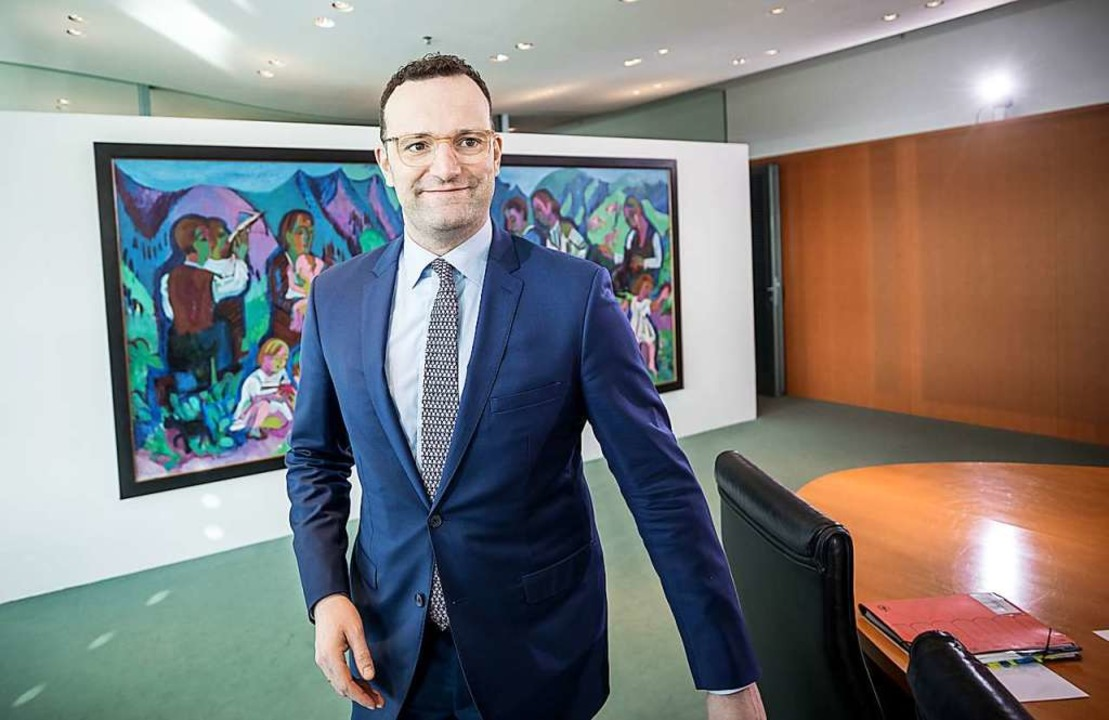 Gesundheitsminister Jens Spahn (CDU) w...d gesetzlich Versicherten reduzieren.   | Foto: dpa