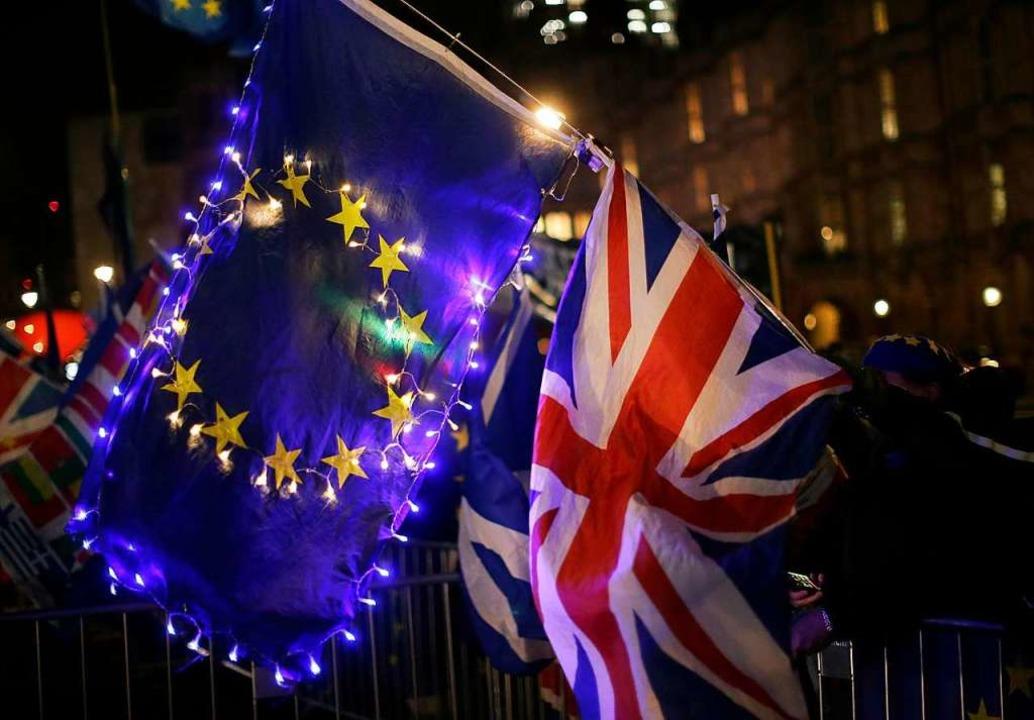 Ohne Deal soll der Brexit nicht ablaufen.  | Foto: dpa