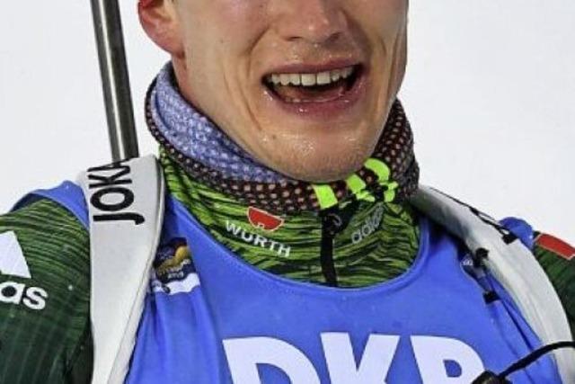 Arnd Peiffer ist Weltmeister im Einzel