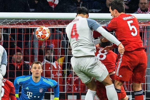 1:3 – FC Bayern scheitert am FC Liverpool