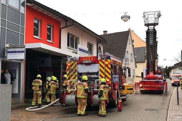 Heizungsanlage sorgt in Heitersheim für starke Rauchentwicklung