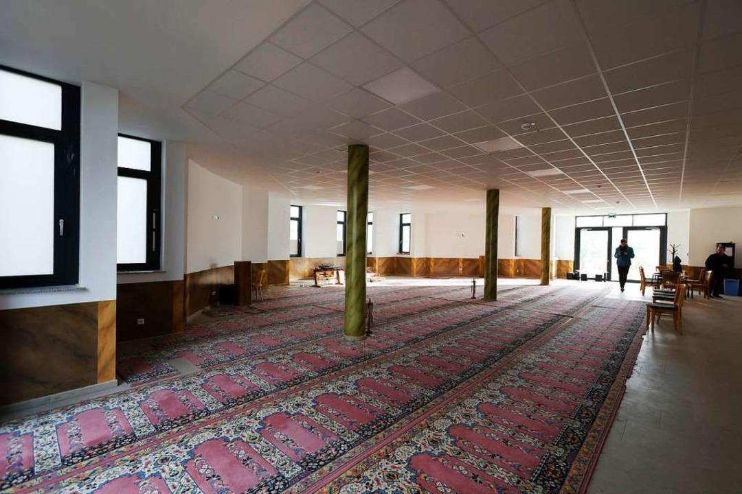 Provisorium: Im Moment wird noch im Mehrzweckraum im Erdgeschoss gebetet.  | Foto: Christoph Breithaupt