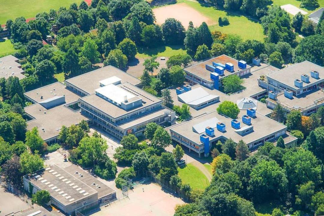Noch in diesem Jahr beginnen die Abris...m Gelände der Staudinger-Gesamtschule.  | Foto: Nils Theurer