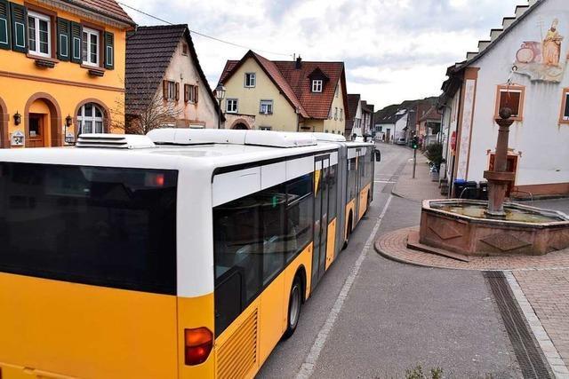 Tempo 30 in der ganzen Ortsdurchfahrt von Wasenweiler