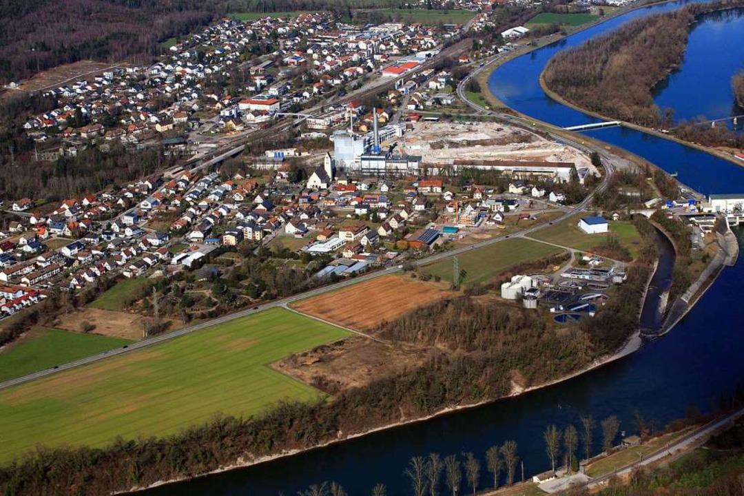 Albbruck soll das neue Zentralklinikum beherbergen.  | Foto: Erich Meyer