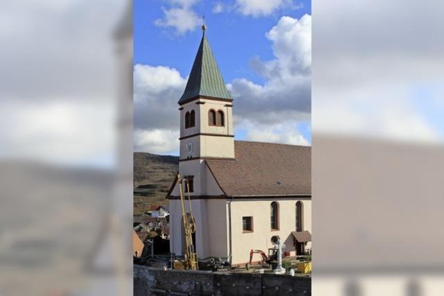 Kirchensanierung verzögert sich