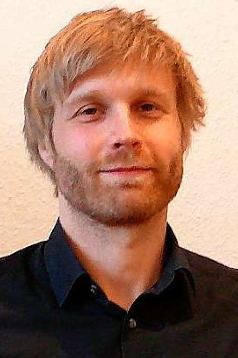 Philipp Hölderich von der Planersocietät  | Foto: Marion Haid/Stadt Lahr