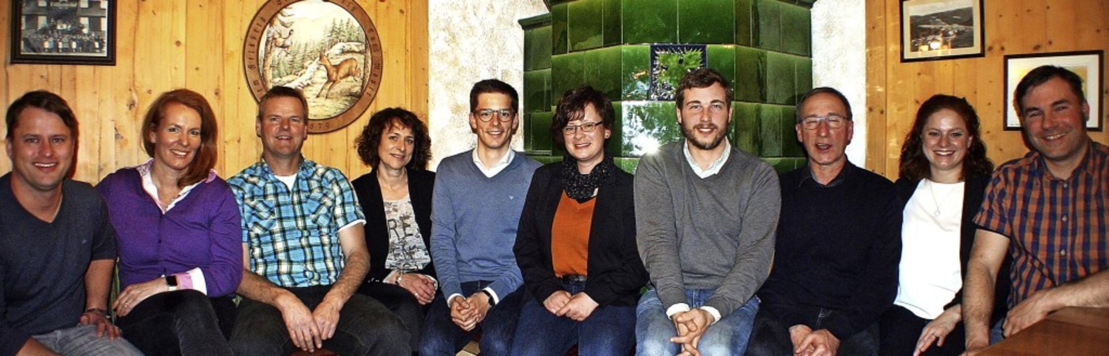 Sie kandidieren für die neu gegründete...k, Aline Wimmer und  Michael Schmidt.   | Foto: Hans-Jochen Köpper