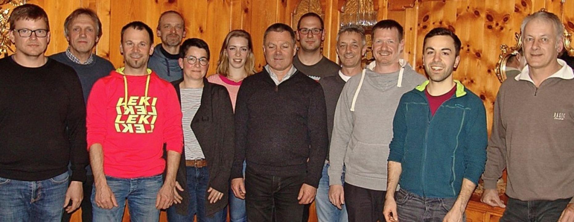 Die Kandidaten (von links):  Stefan Sa...ler. Auf dem Bild fehlt Thomas Simon.   | Foto: Heinrich Fehrenbach