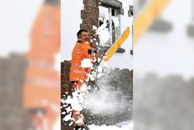 Eine Extraportion Schnee